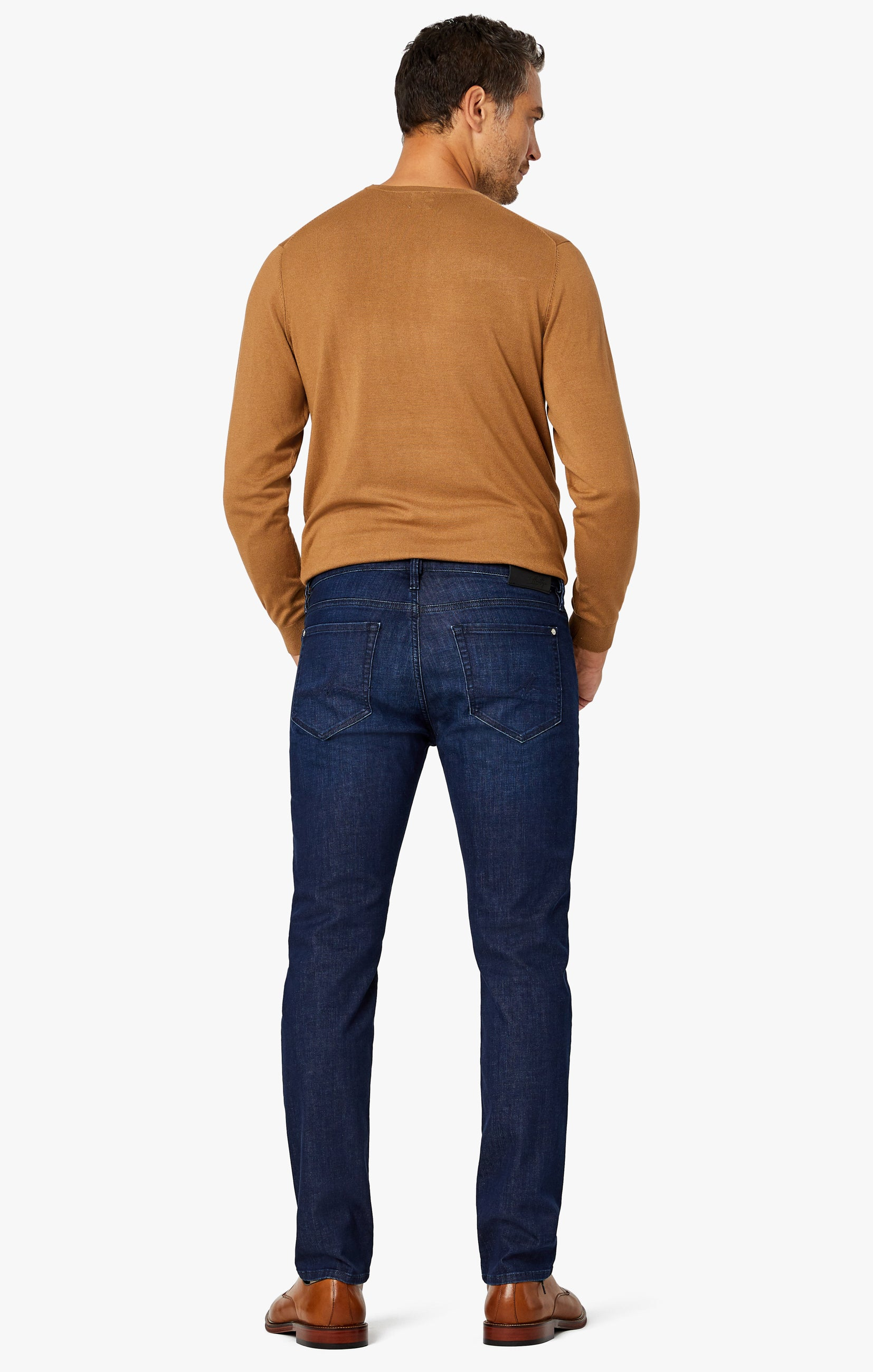 Courage Straight Leg Jeans in Deep Blue Heritage Image 9