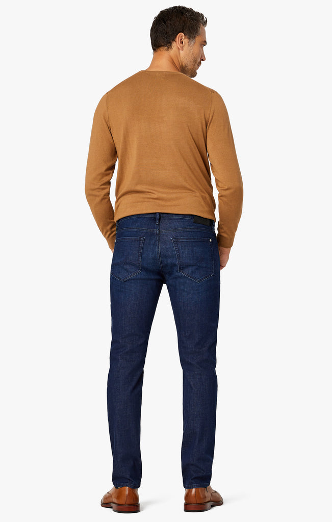 Courage Straight Leg Jeans in Deep Blue Heritage
