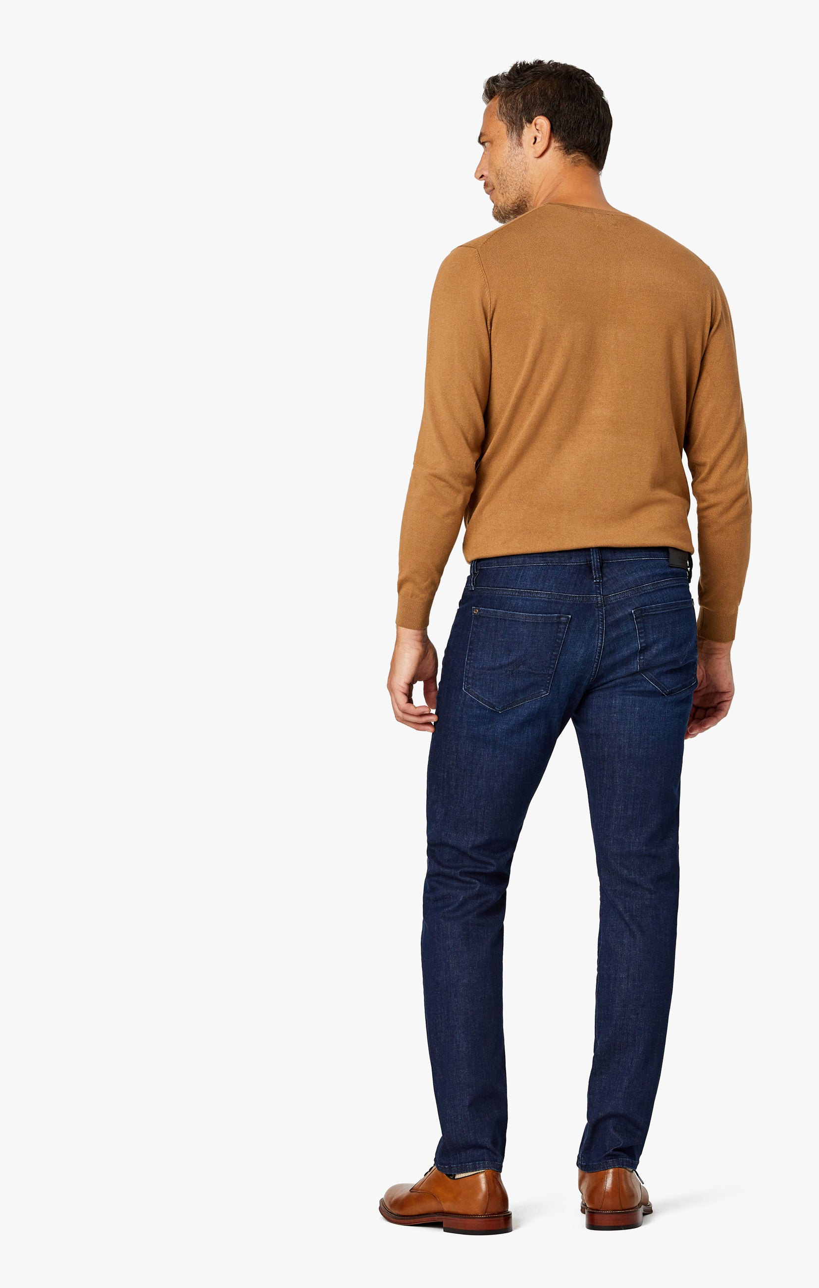 Courage Straight Leg Jeans in Deep Blue Heritage Image 8