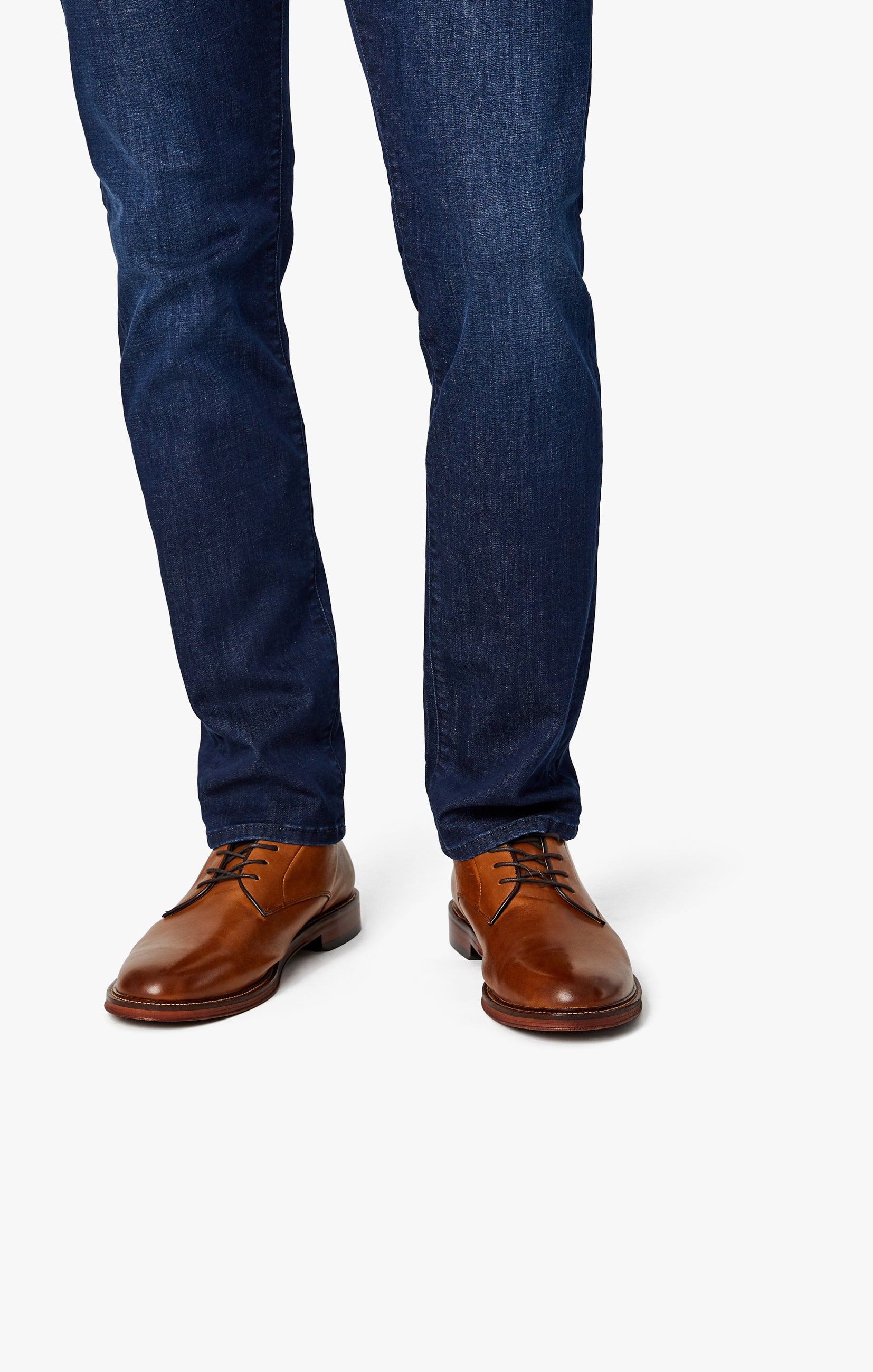 Courage Straight Leg Jeans in Deep Blue Heritage Image 5