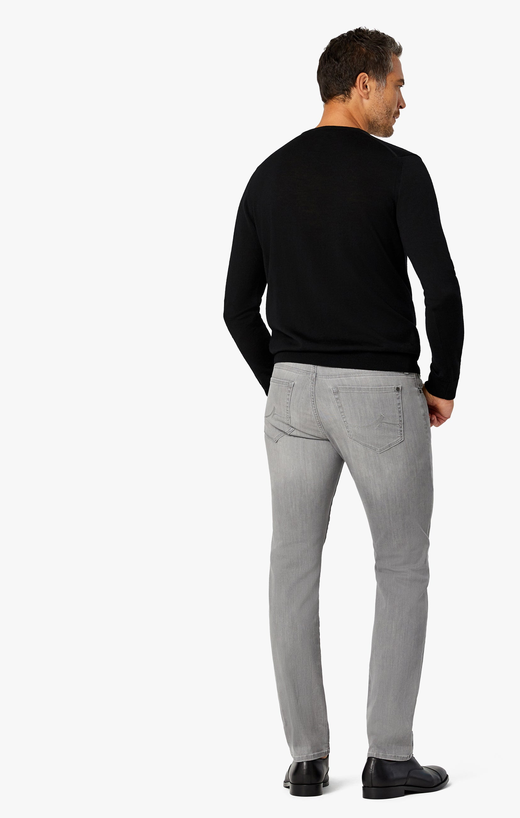 Courage Straight Leg Jeans in Grey Heritage Image 8