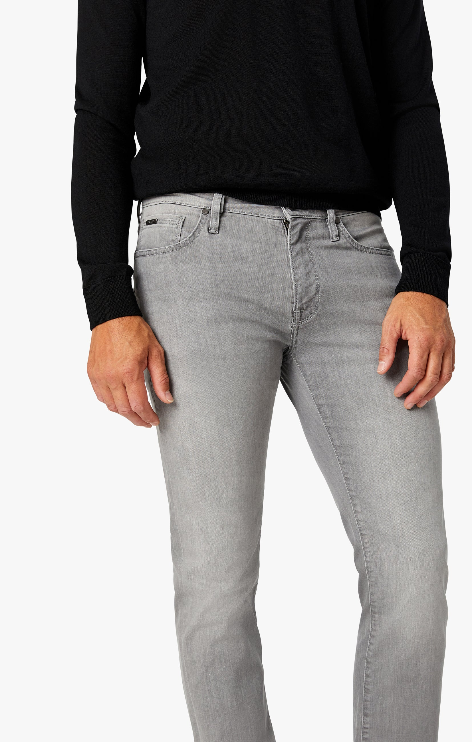 Courage Straight Leg Jeans in Grey Heritage Image 6
