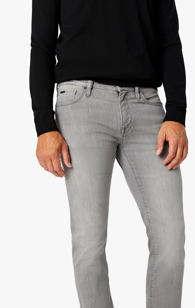 Courage Straight Leg Jeans in Grey Heritage