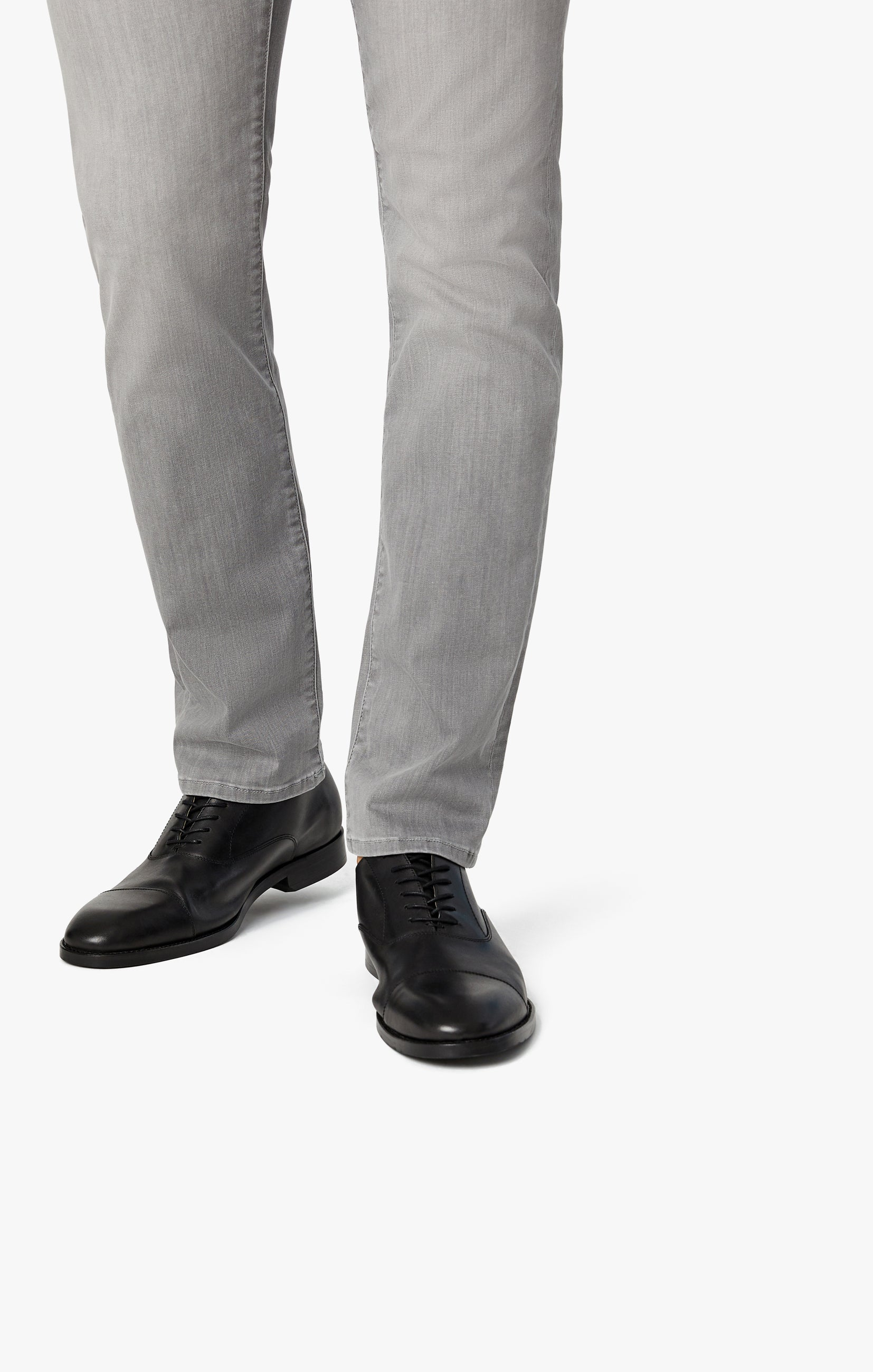 Courage Straight Leg Jeans in Grey Heritage Image 5