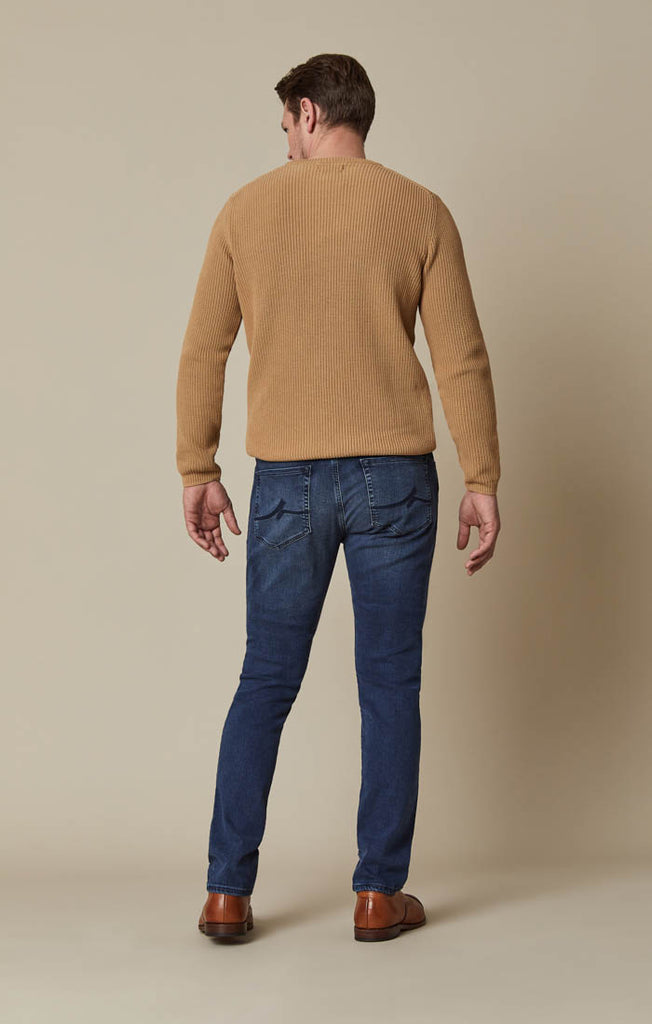 Courage Straight Leg Jeans in Mid Ultra
