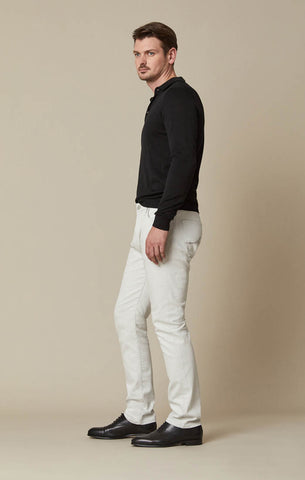 COURAGE STRAIGHT LEG JEANS IN SAND COLOURED DENIM