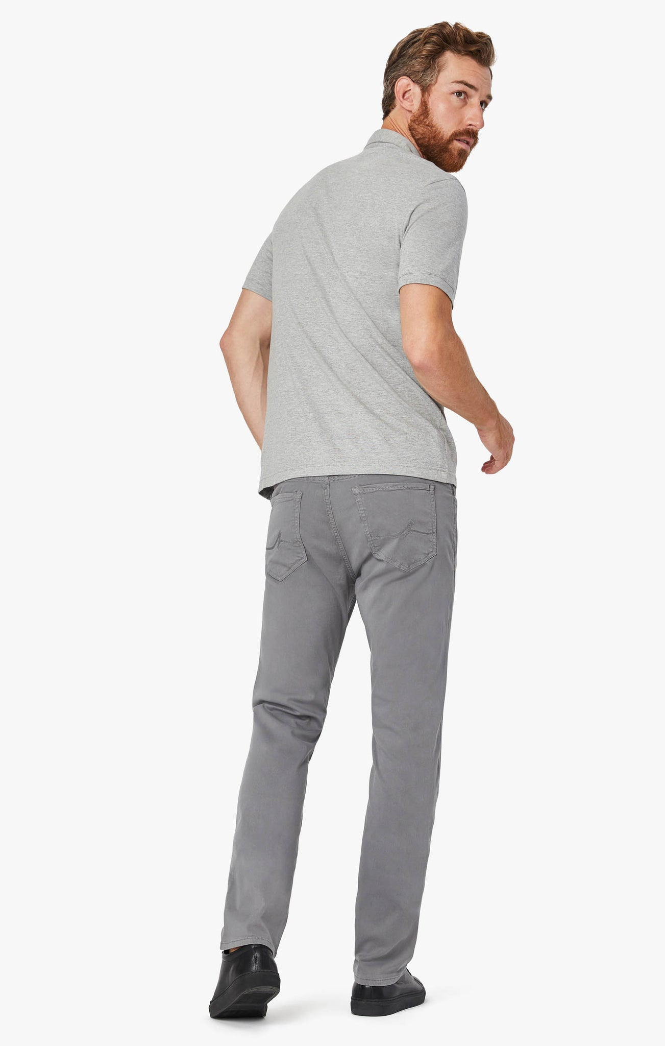 Courage Straight Leg Pants in Shark Twill