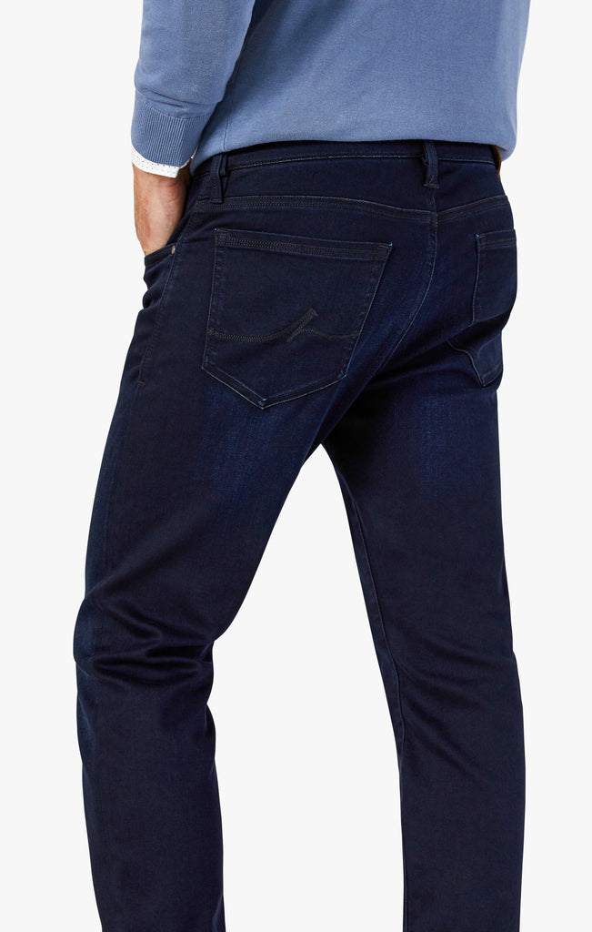 Courage Straight Leg Jeans in Ink Rome