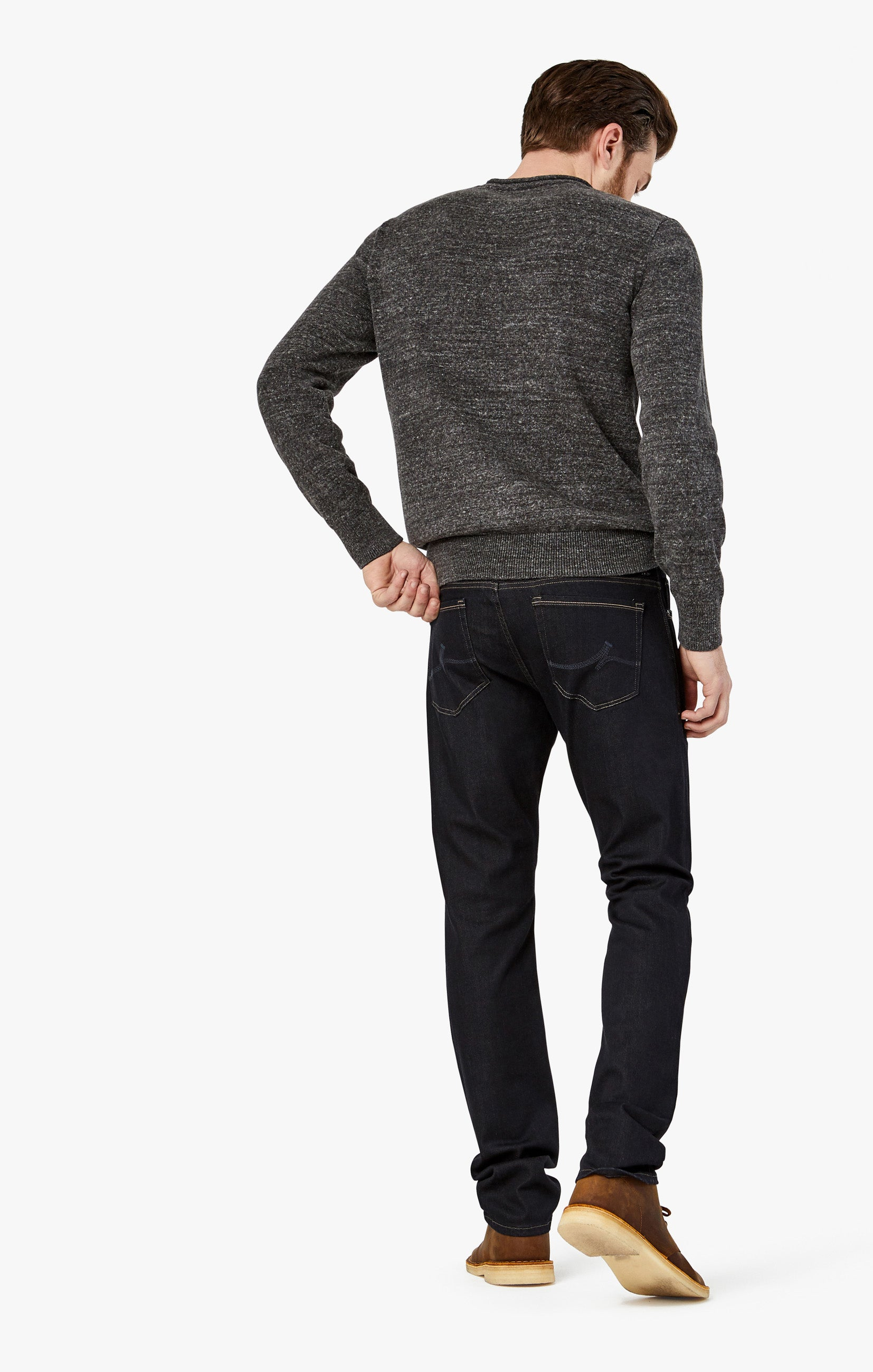 Courage Straight Leg Jeans in Midnight Rome Image 1