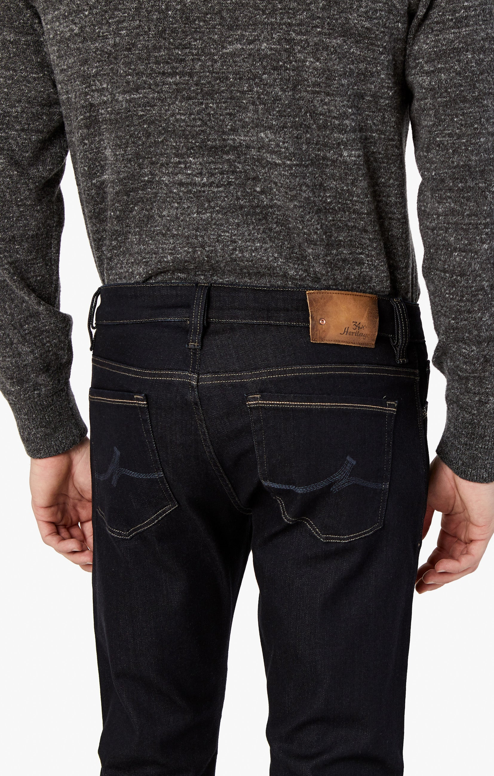 Courage Straight Leg Jeans in Midnight Rome Image 7