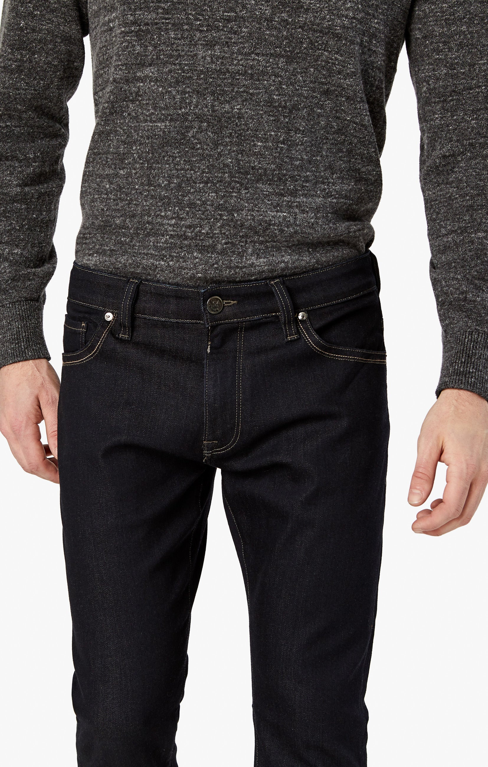 Courage Straight Leg Jeans in Midnight Rome Image 6