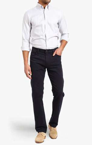 COURAGE STRAIGHT LEG PANTS IN NAVY WASHED LUXE