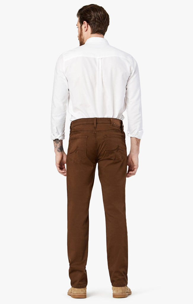 Courage Straight Leg Pants in Cafe Twill
