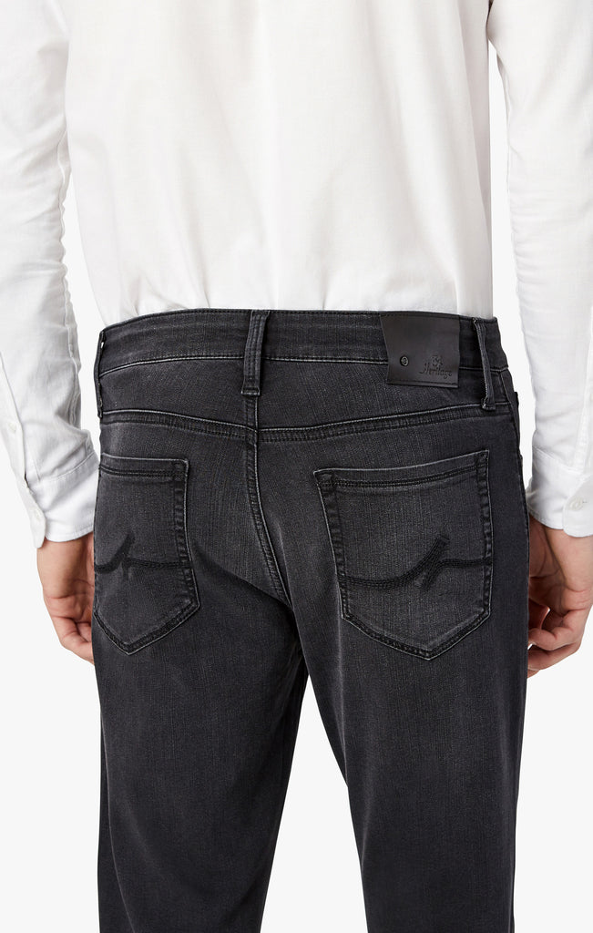 Courage Straight Leg Jeans In Smoke Ultra