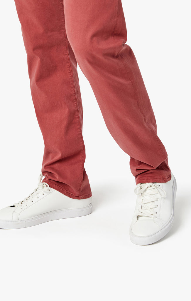 Courage Straight Leg Pants in Brick Dust Twill