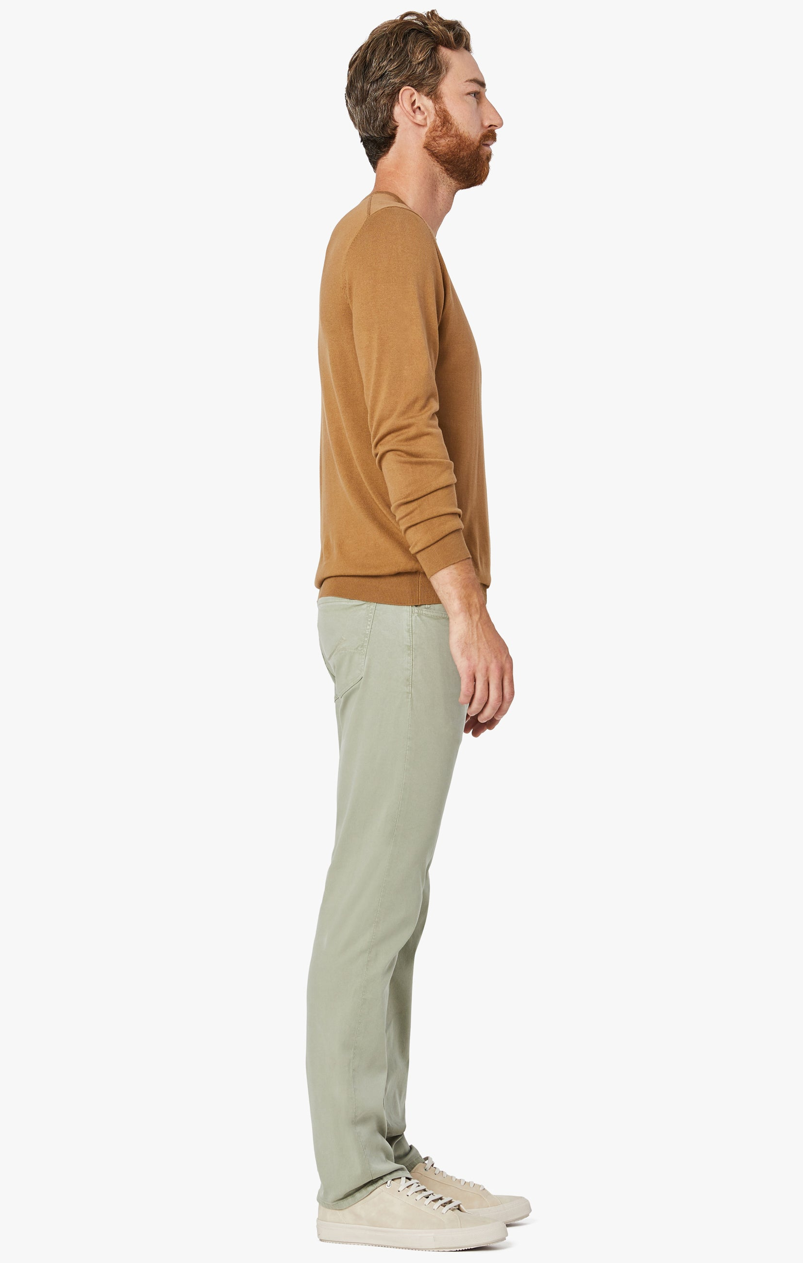 Courage Straight Leg Pants in Sage Soft Touch Image 3