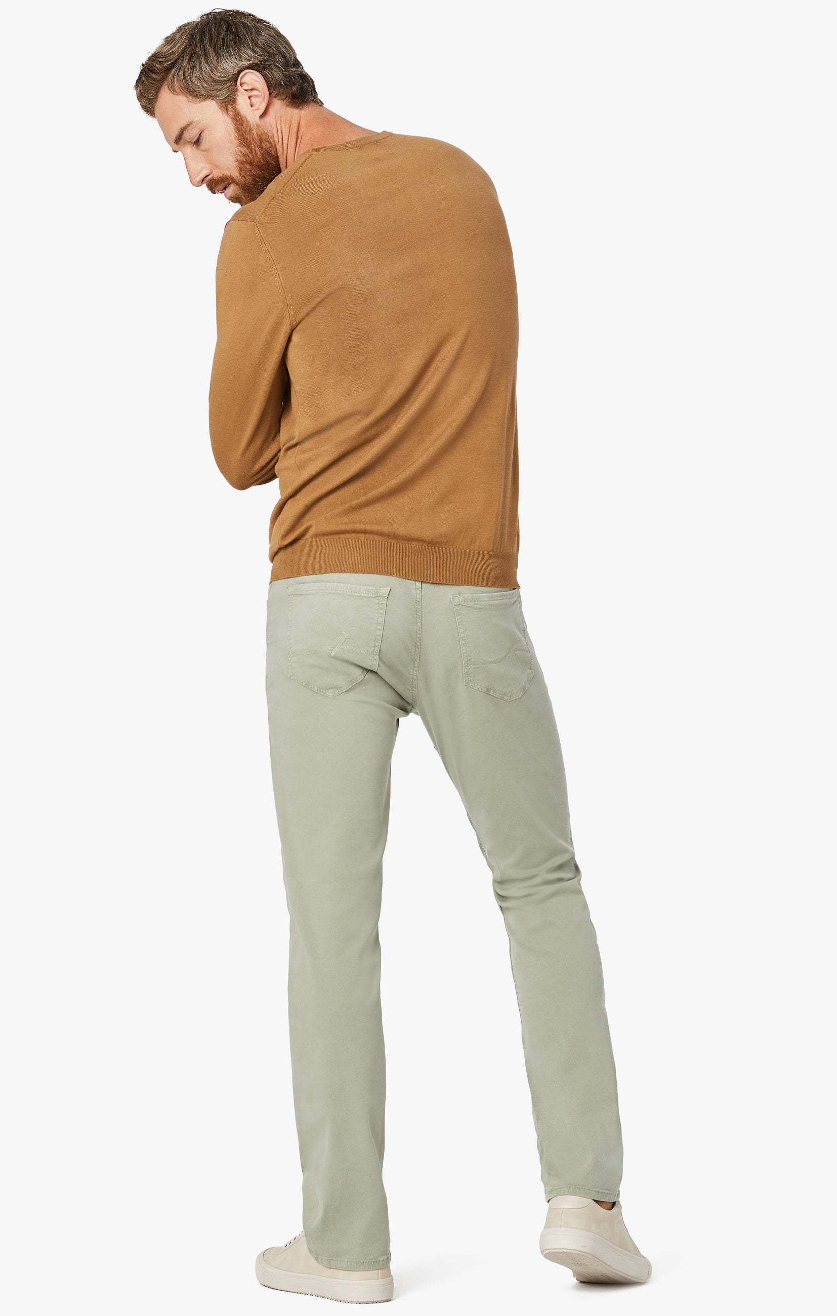 Courage Straight Leg Pants in Sage Soft Touch Image 6