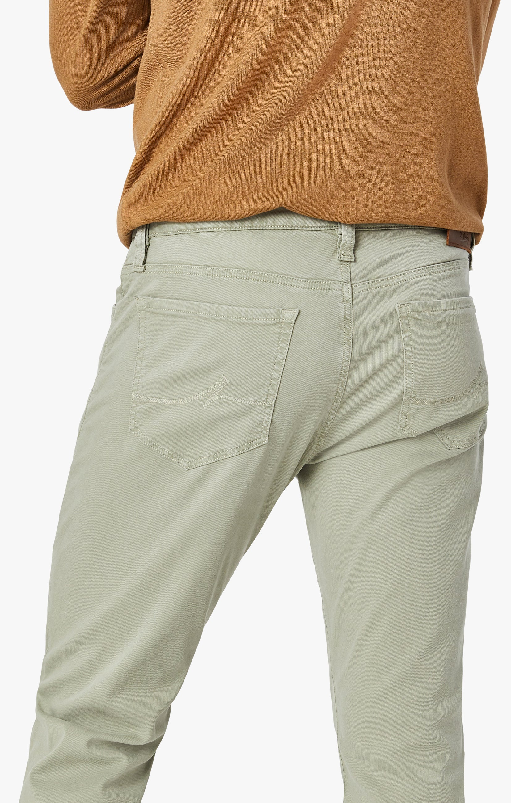 Courage Straight Leg Pants in Sage Soft Touch Image 7