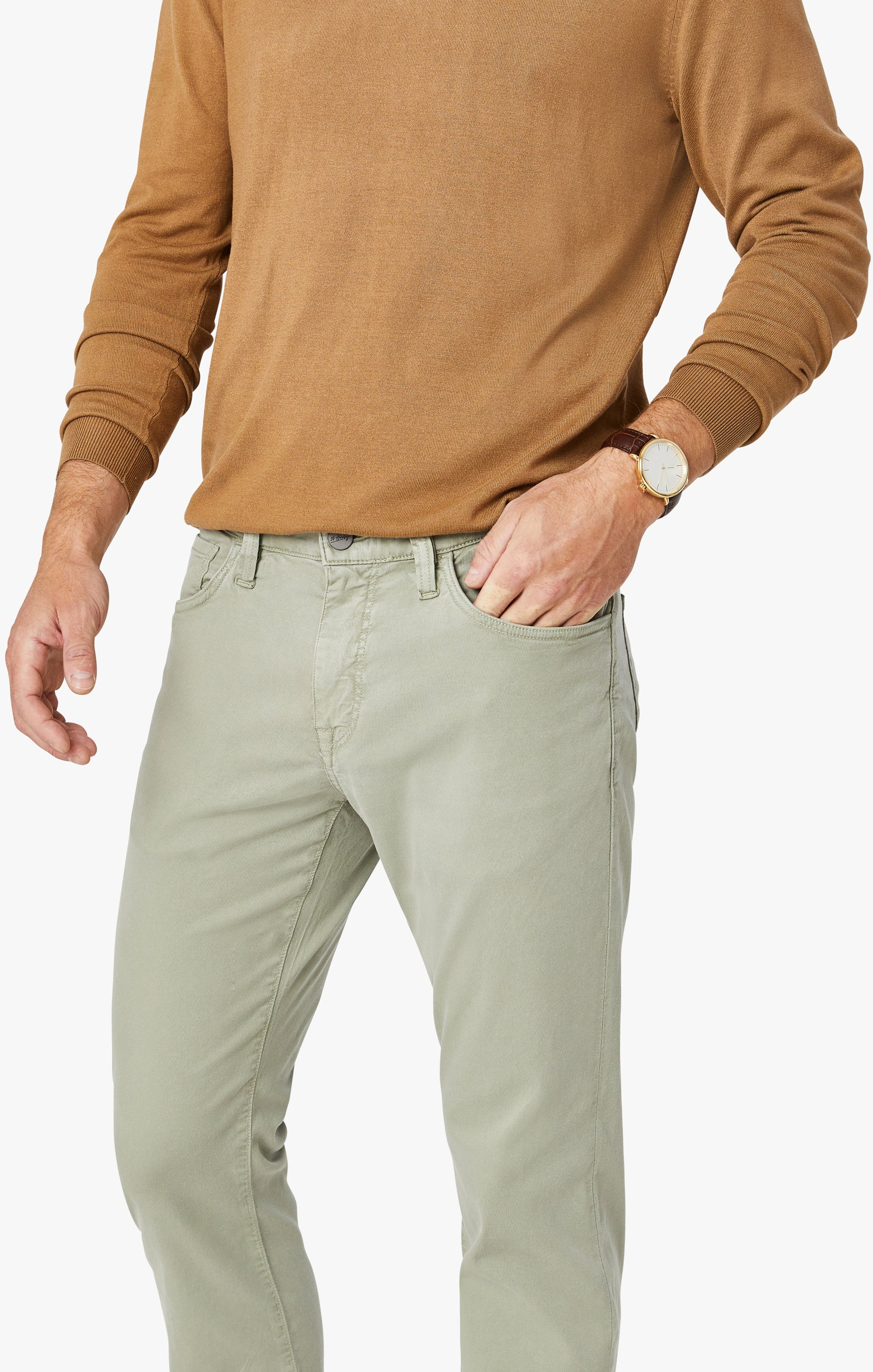 Courage Straight Leg Pants in Sage Soft Touch Image 8