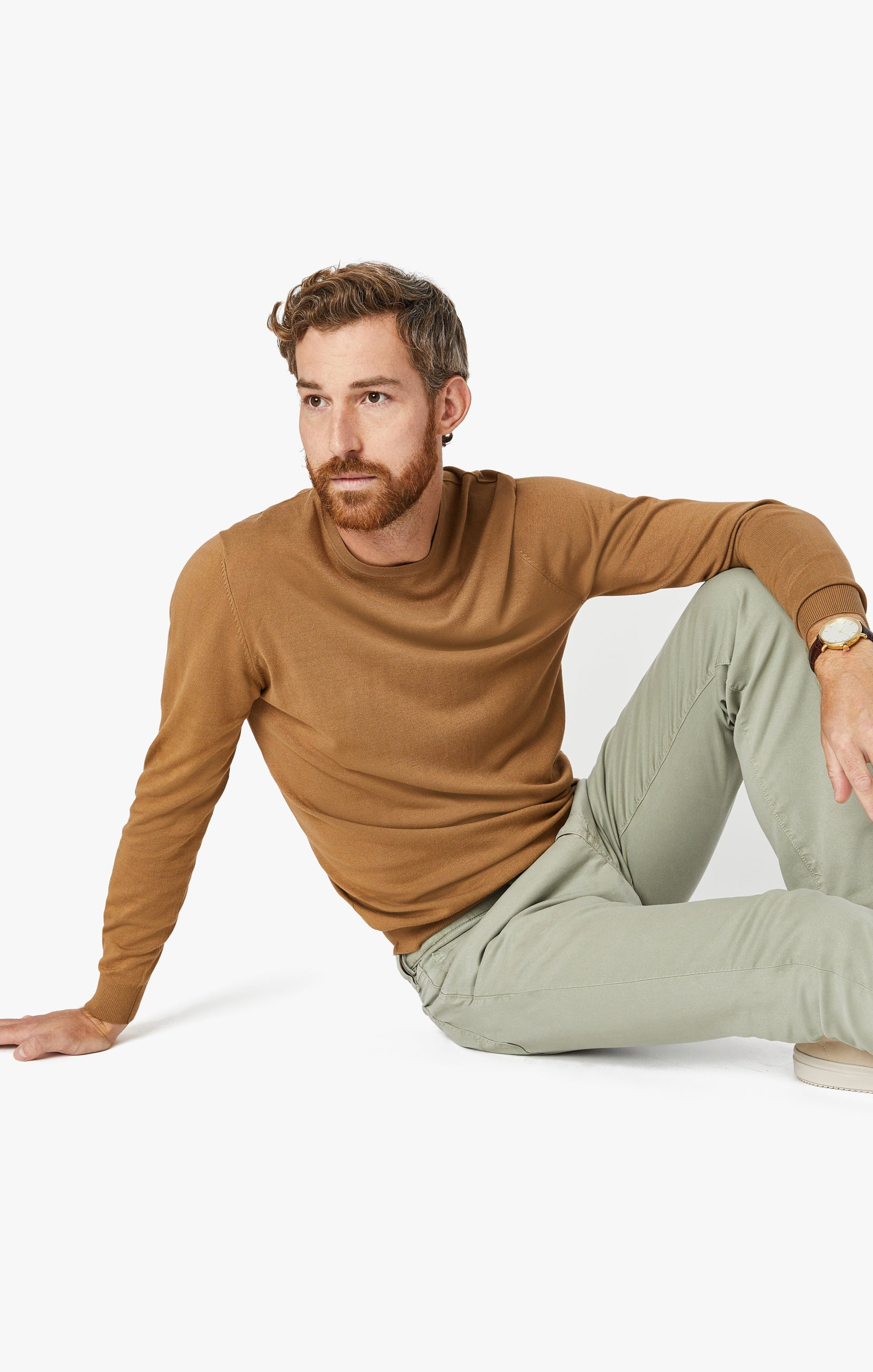 Courage Straight Leg Pants in Sage Soft Touch Image 1