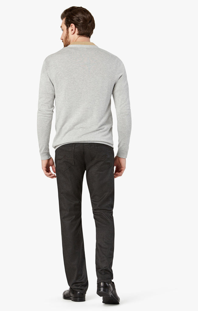 Courage Straight Leg Jeans In Dark Grey Supreme