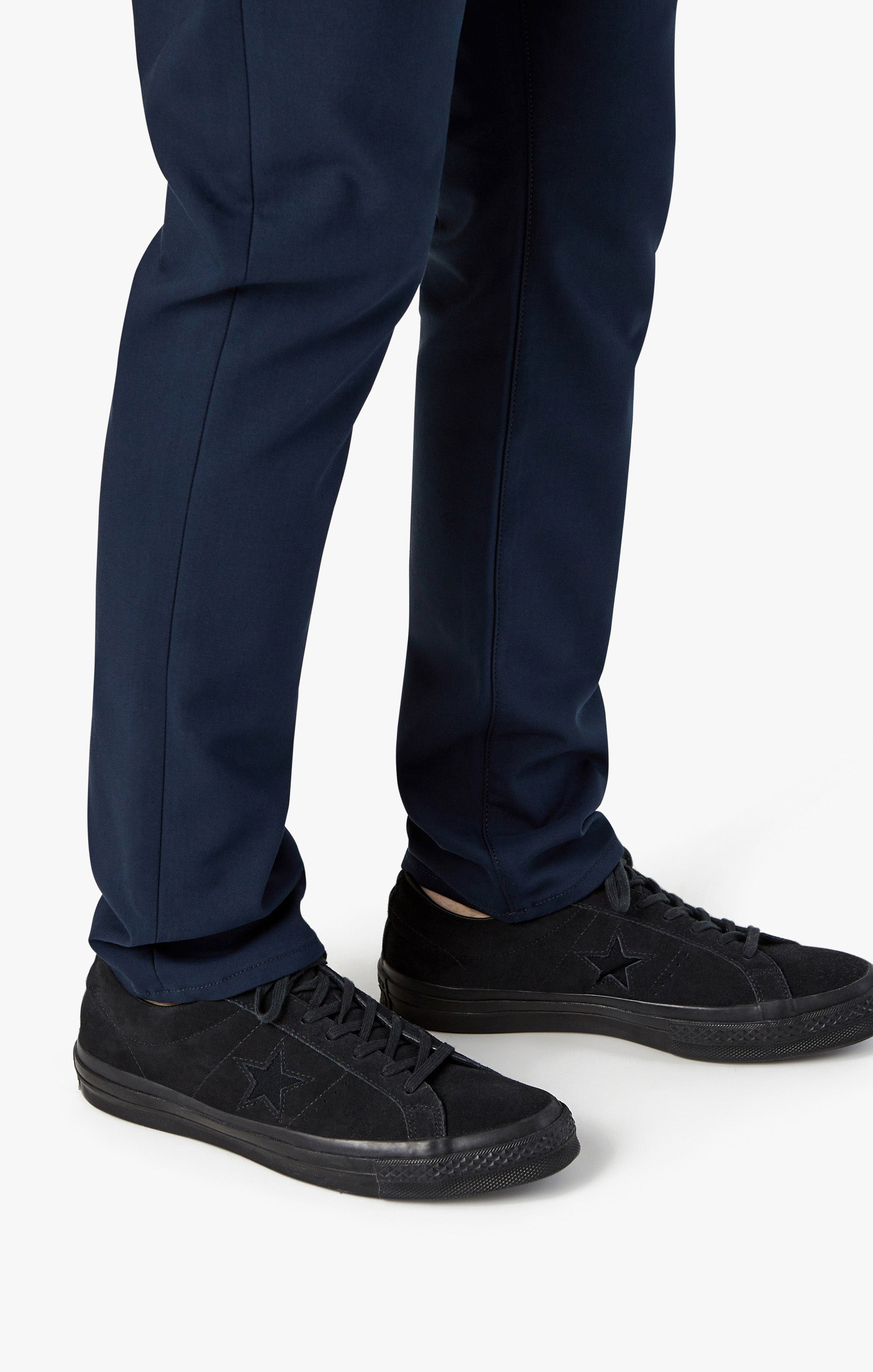 Courage Straight Leg Pants in Navy Commuter Image 7