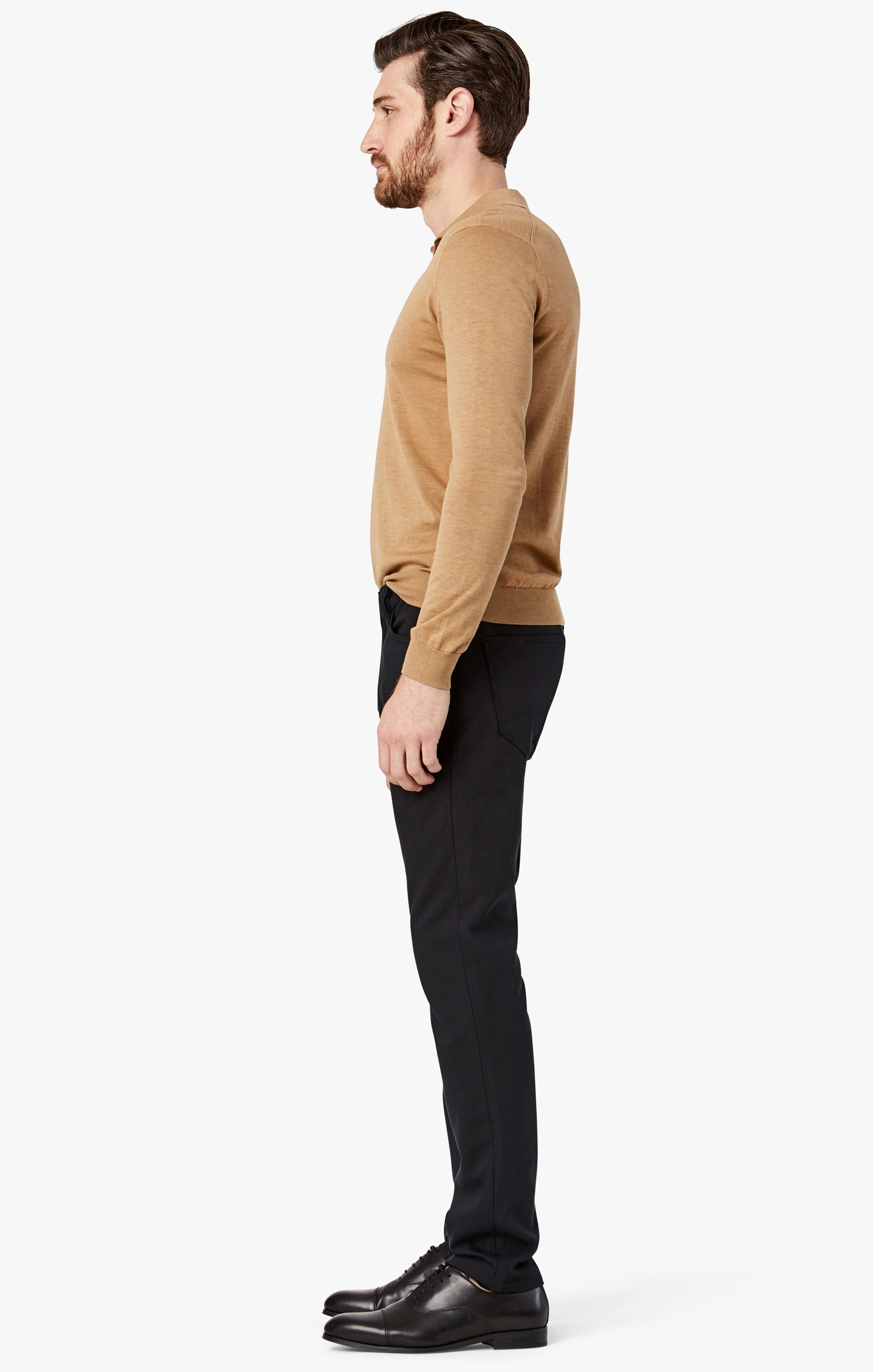 Courage Straight Leg Jeans in Onyx Commuter Image 7