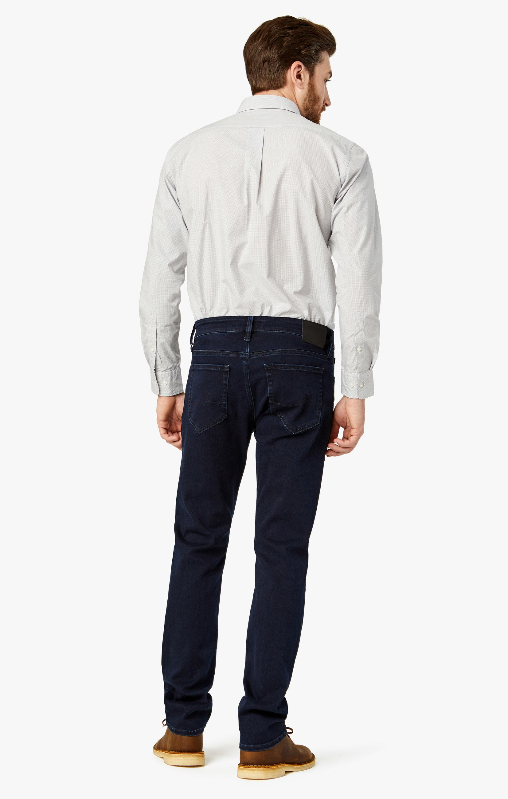 Courage Straight Leg Jeans In Ink Brushed Image 9
