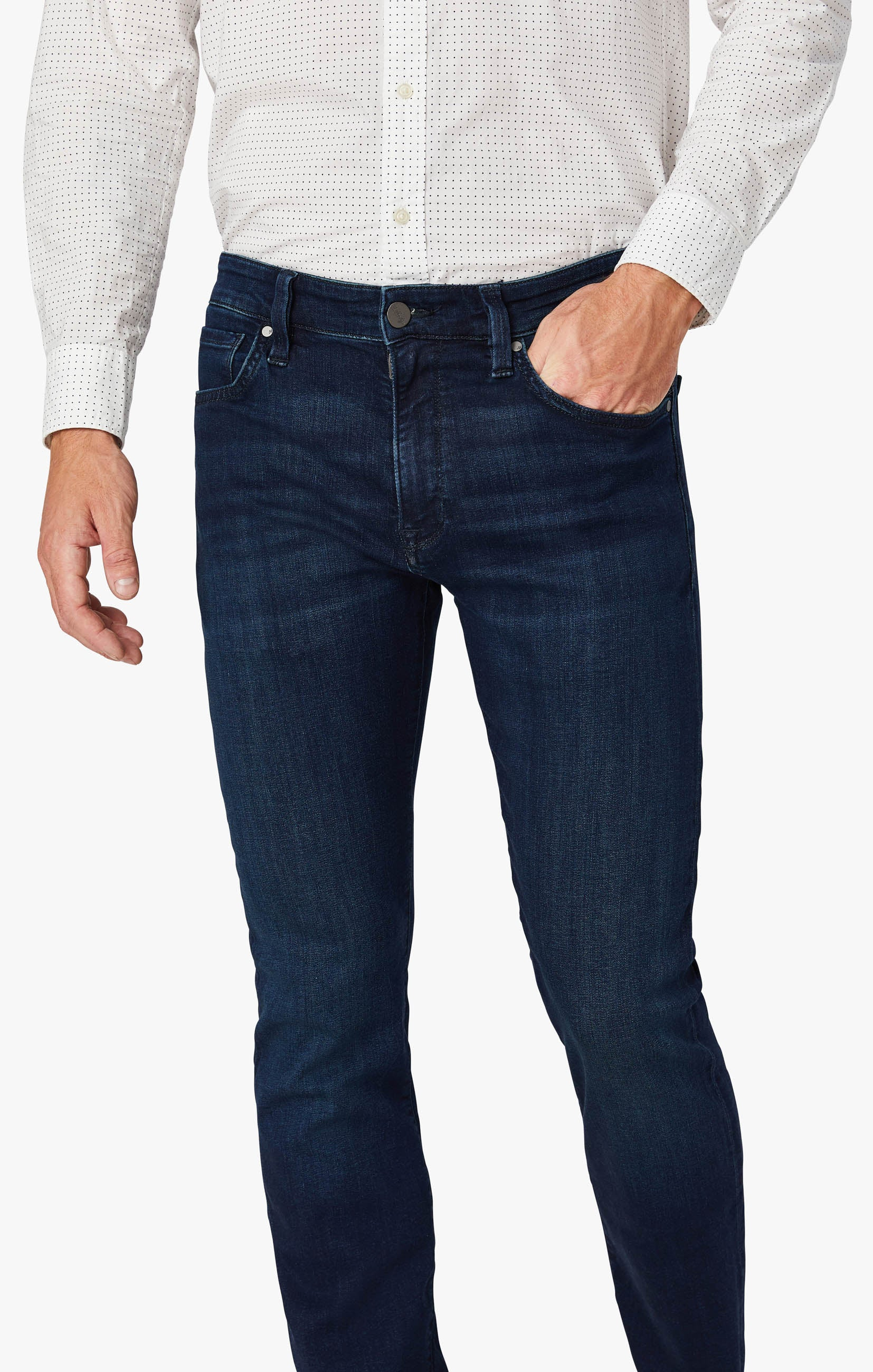 Courage Straight Leg Jeans In Deep Shaded Ultra Image 5