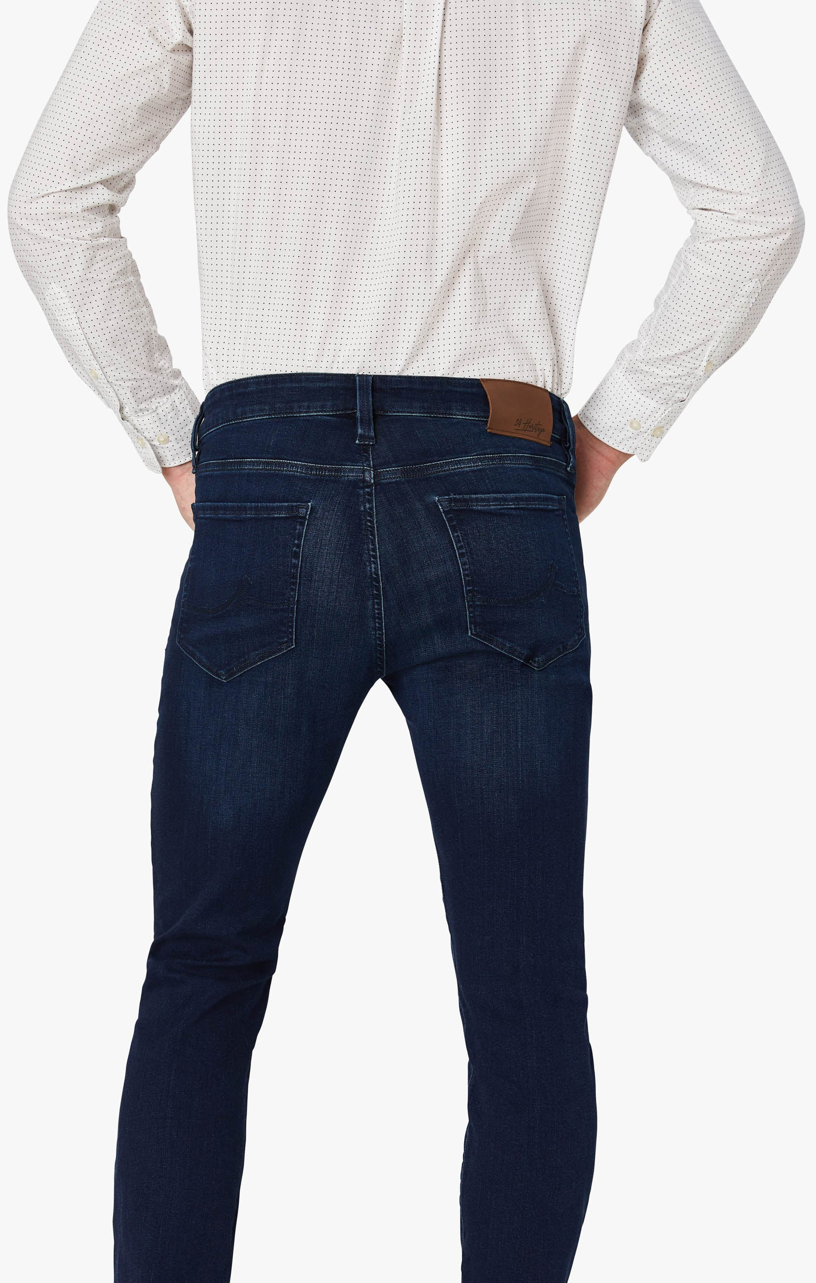 Courage Straight Leg Jeans In Deep Shaded Ultra Image 6
