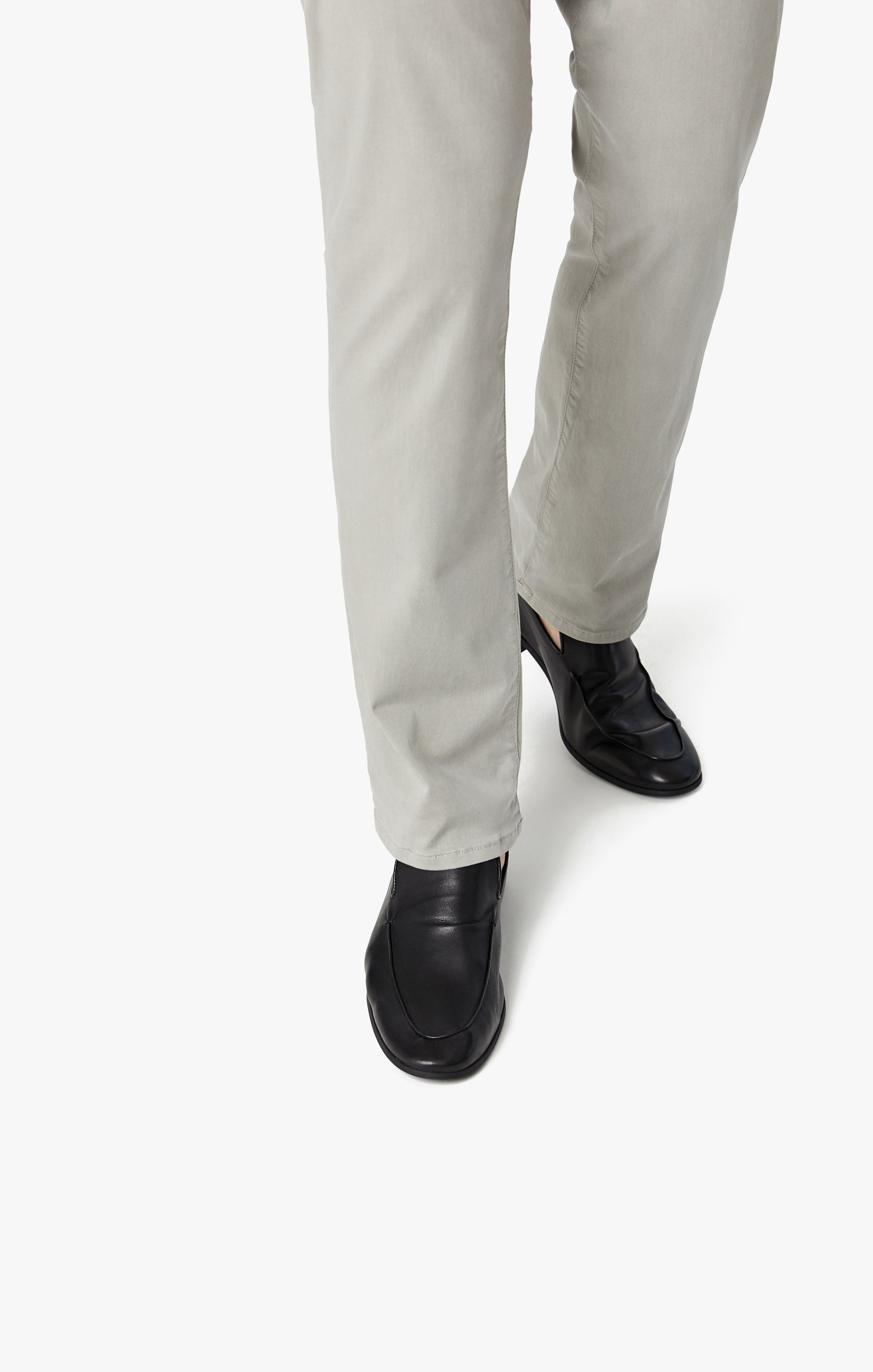Courage Straight Leg Pants in Grey Twill Image 7