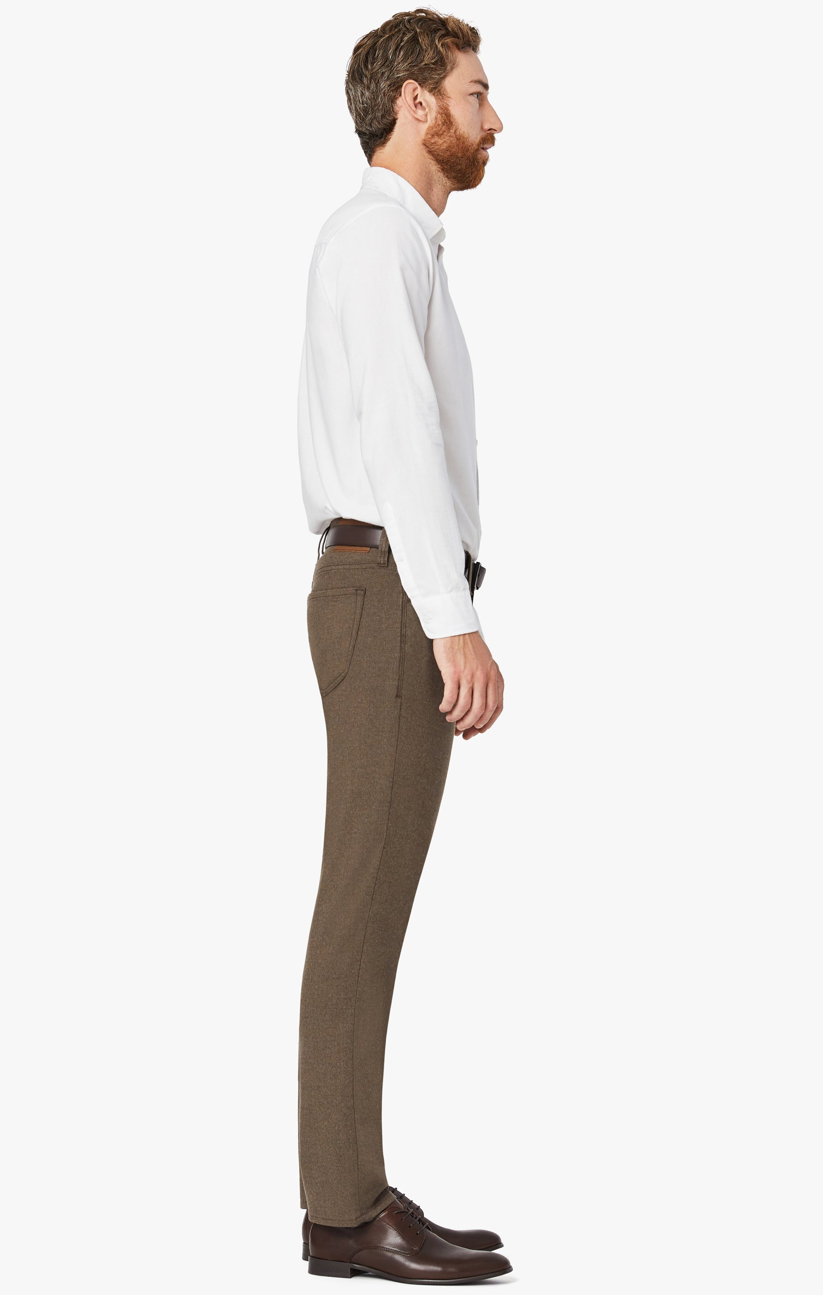 Courage Straight Leg Pants In Mocha Supreme Image 6