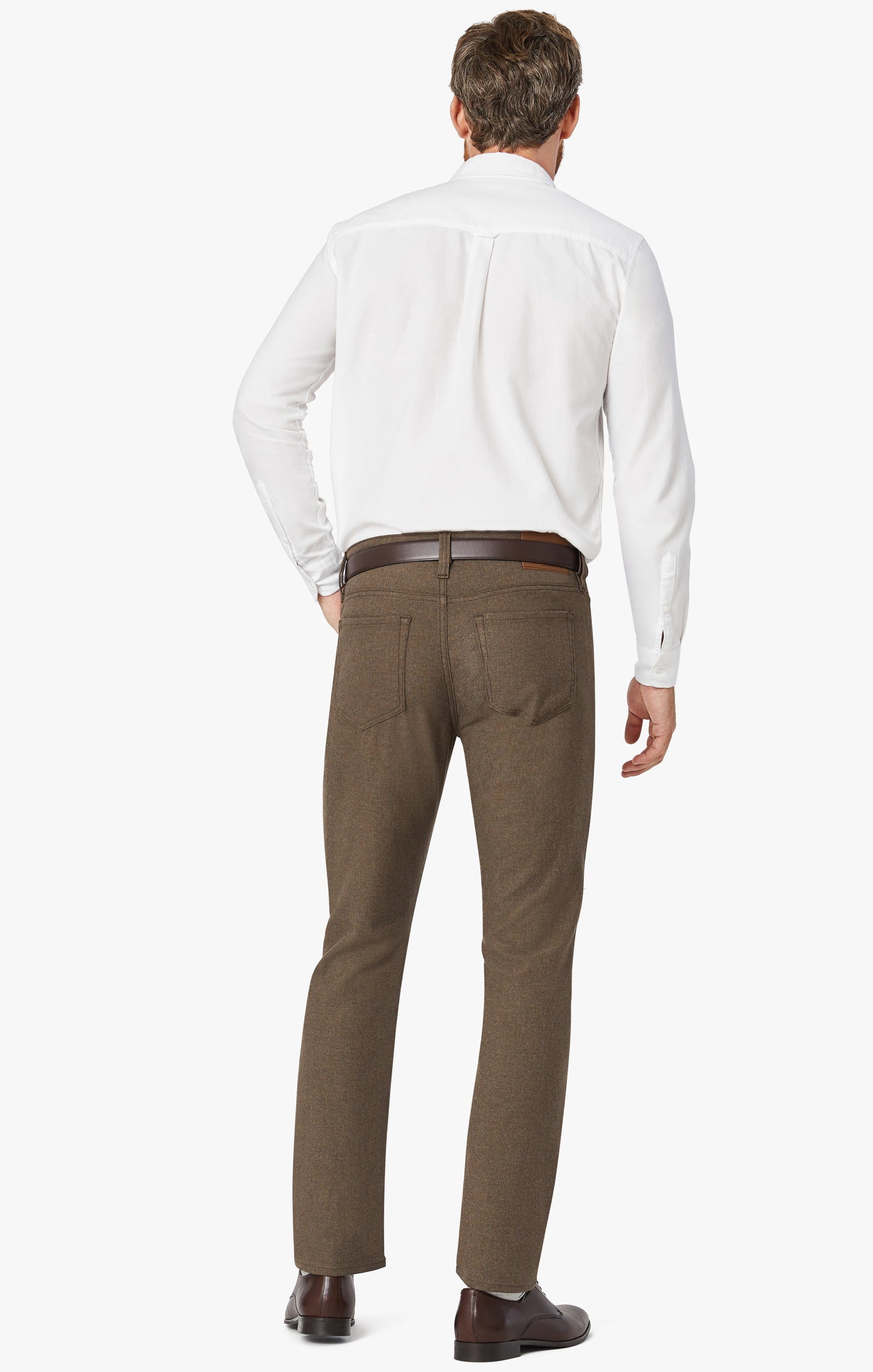 Courage Straight Leg Pants In Mocha Supreme Image 7