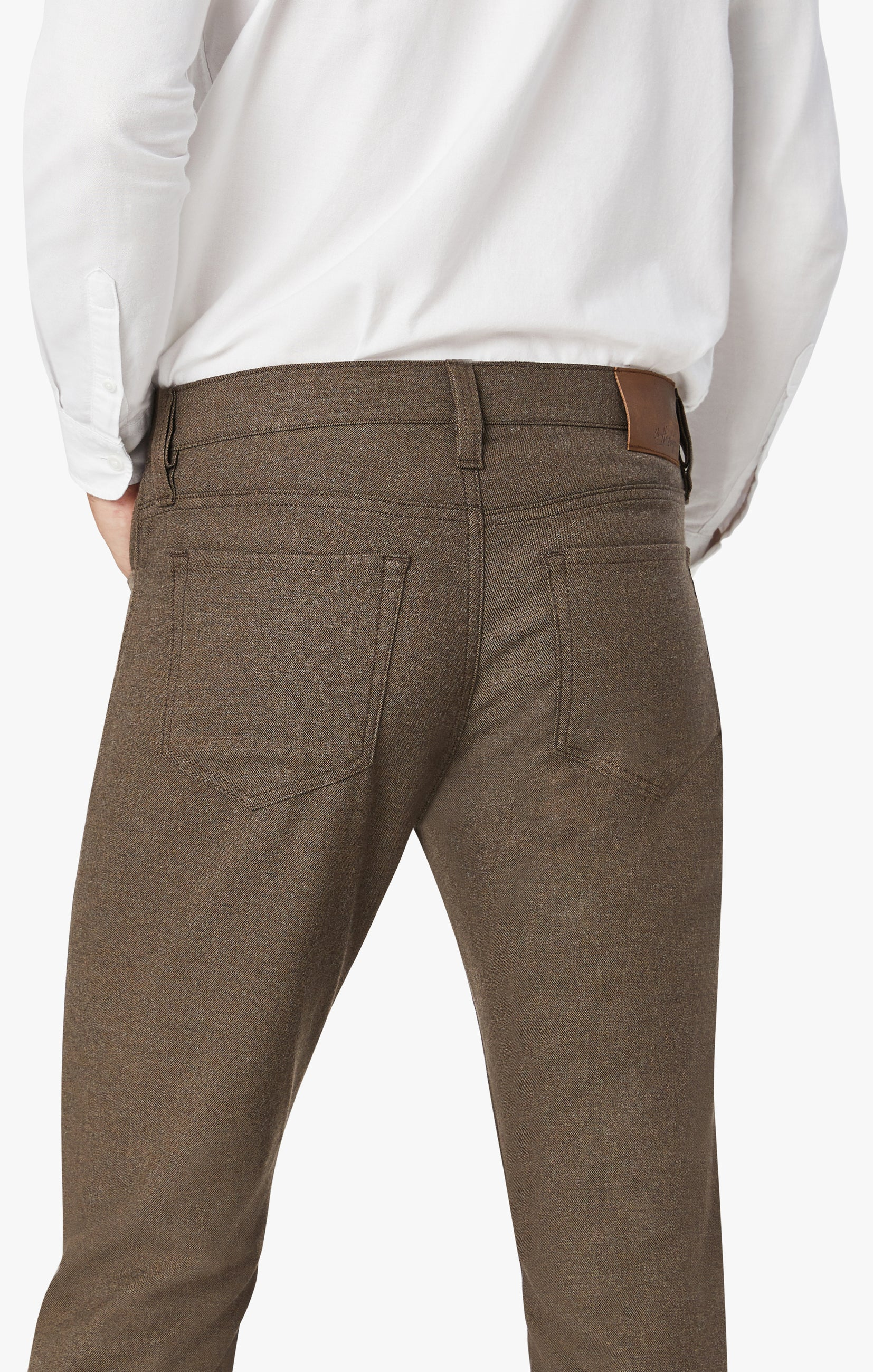 Courage Straight Leg Pants In Mocha Supreme Image 3