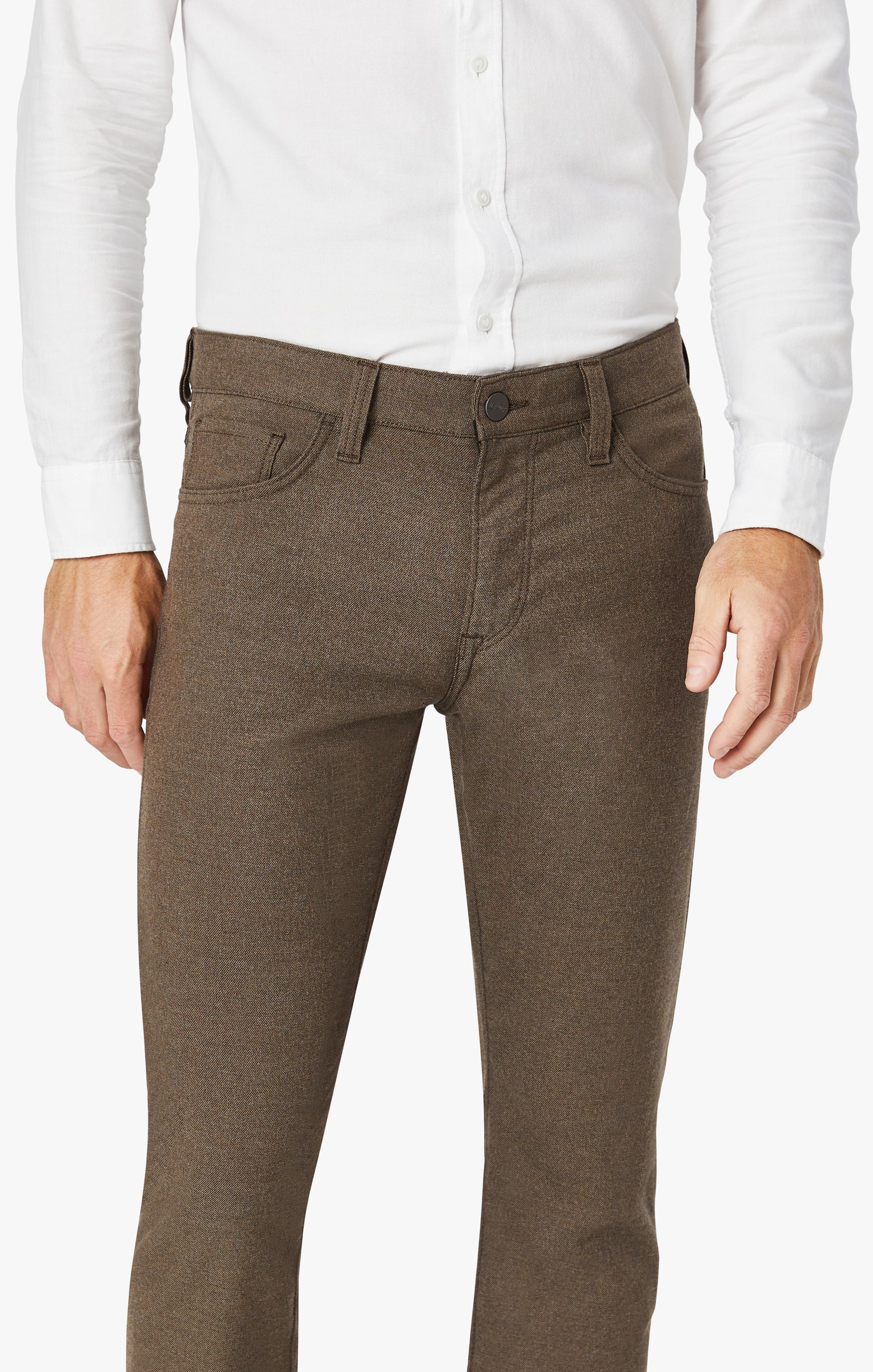 Courage Straight Leg Pants In Mocha Supreme Image 2