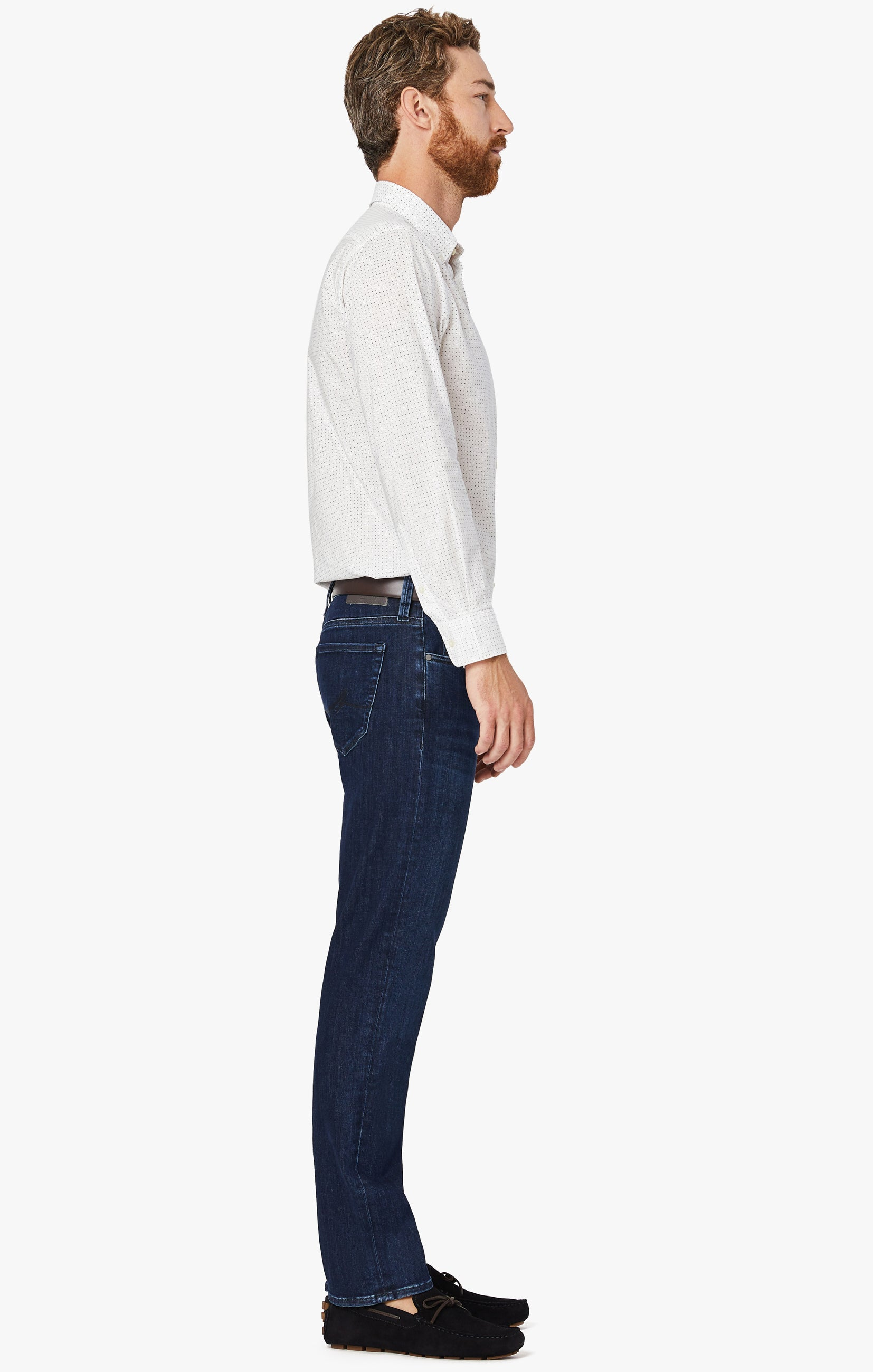 Courage Straight Leg Jeans In Blue Urban Image 4