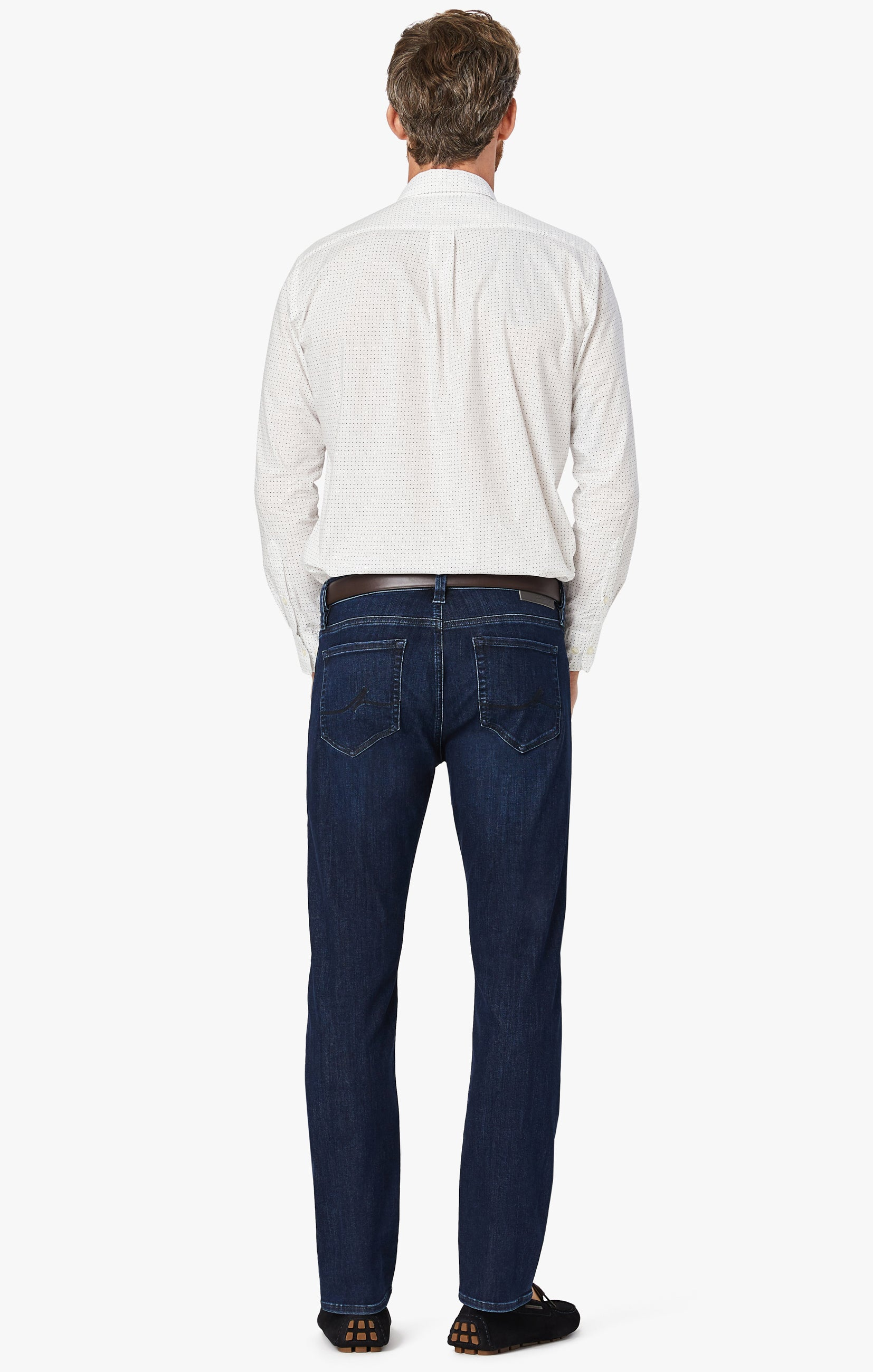 Courage Straight Leg Jeans In Blue Urban Image 5
