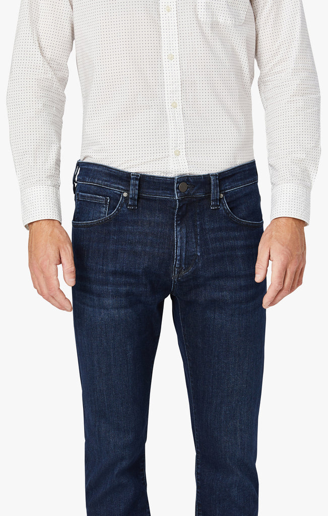 Courage Straight Leg Jeans In Blue Urban