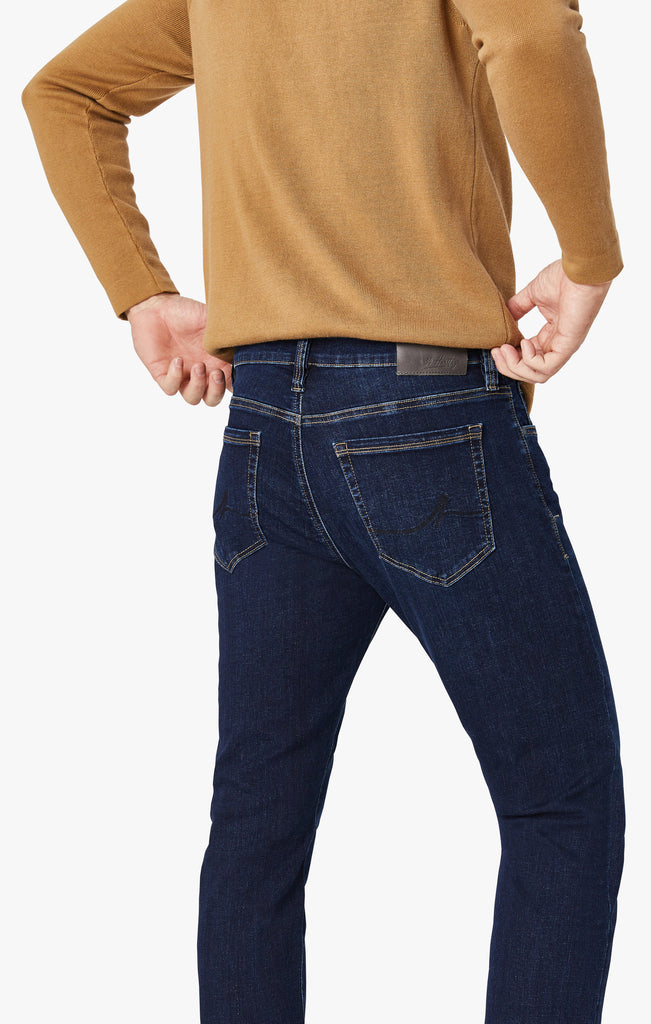 Courage Straight Leg Jeans In Ink Organic
