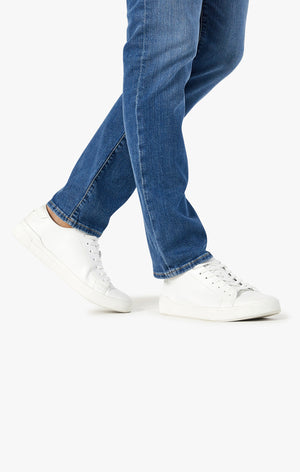 Courage Straight Leg Jeans in Mid Soft