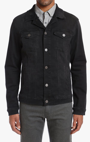 Travis Jacket in Black Soft Comfort - 34 Heritage Canada