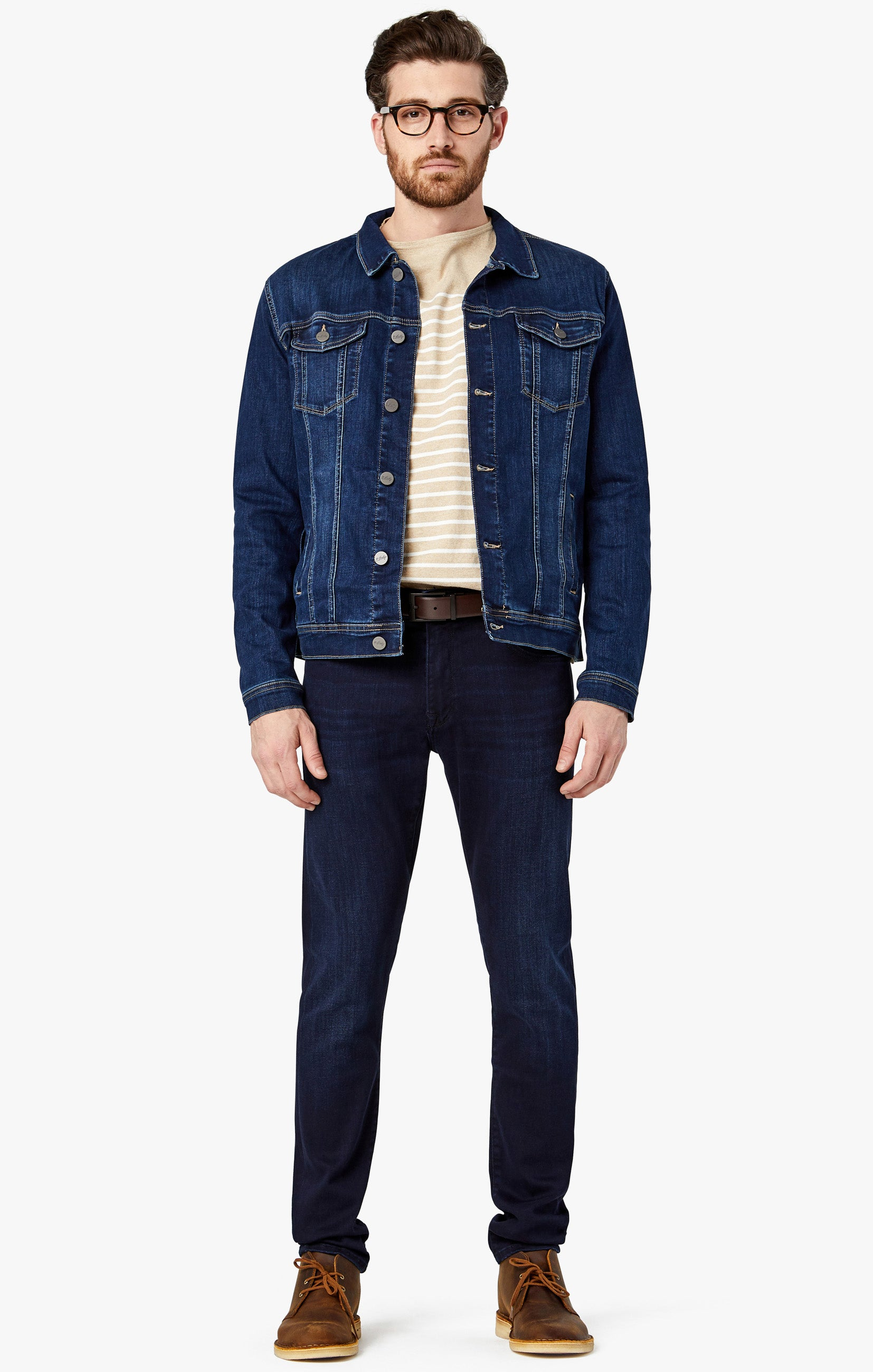 Travis Jacket in Deep Tencel Image 2