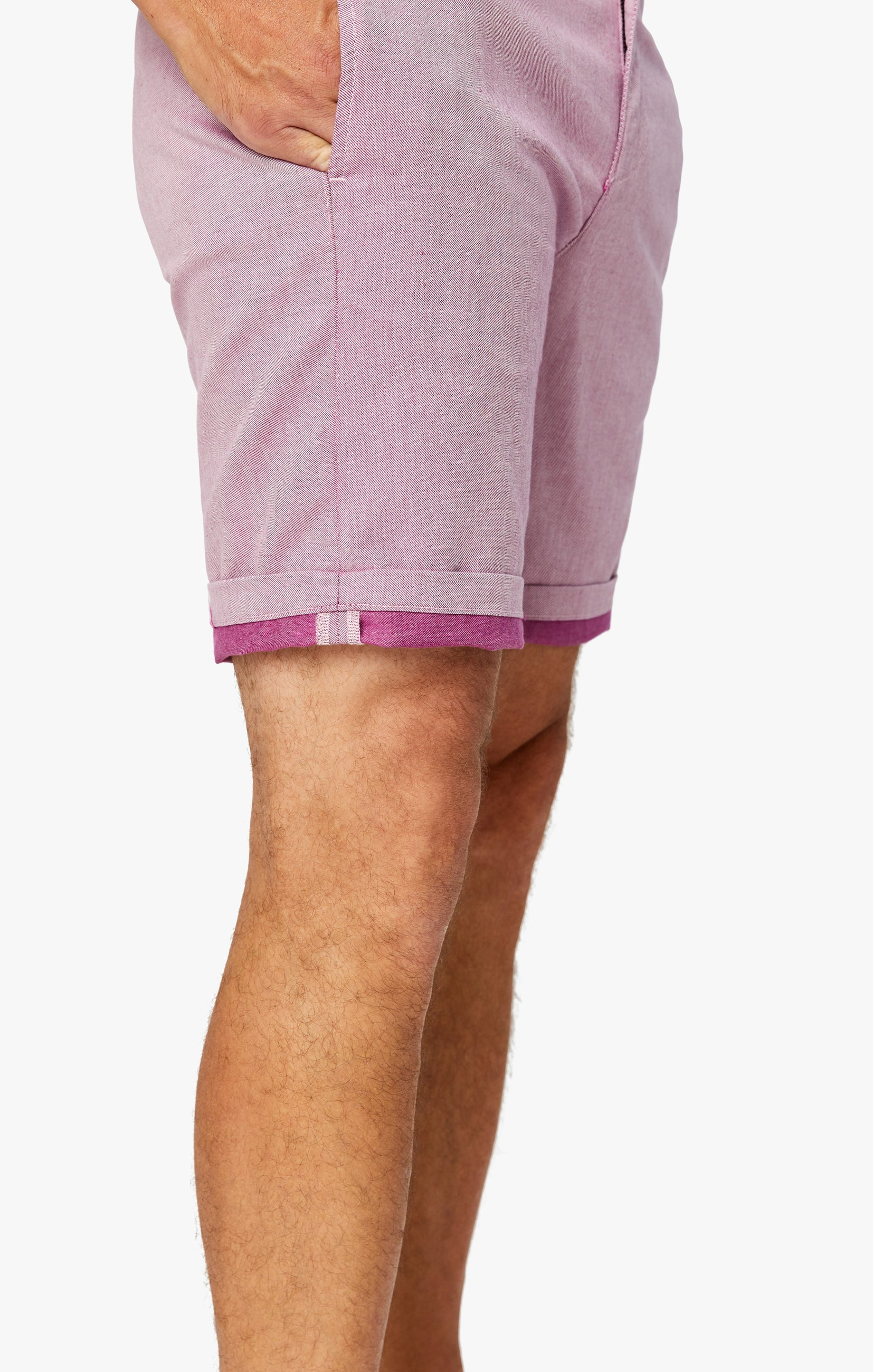 Nevada Shorts in Berry Luxe Reversed Image 7