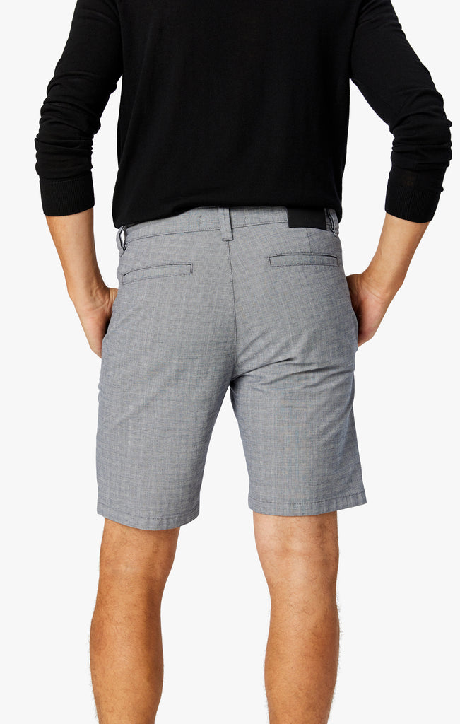 Nevada Shorts in Light Grey Checked