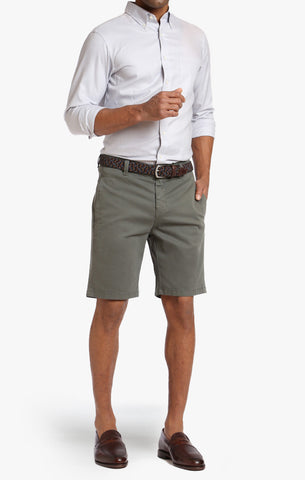 Nevada Shorts in Army Green Twill - 34 Heritage Canada