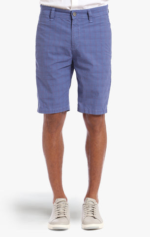 NEVADA SHORTS IN INDIGO PLAID - 34 Heritage Canada