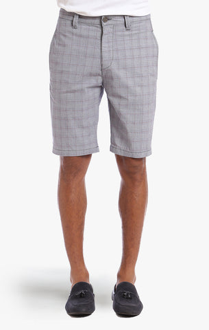 NEVADA SHORTS IN GREY PLAID - 34 Heritage Canada