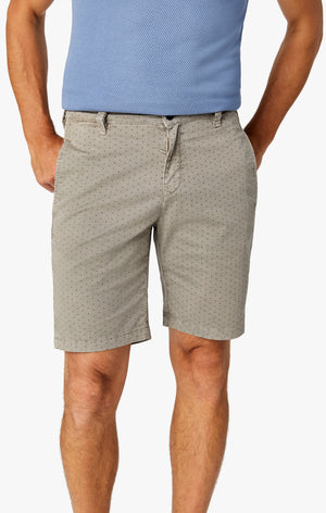 Arizona Slim Shorts in Grey Fancy