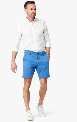 Arizona Slim Shorts in Royal Washed Twill