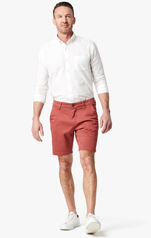 Arizona Slim Shorts in Brick Dust Washed Twill